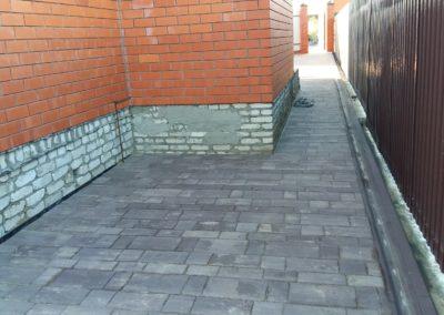 Укладка тротуарной плитки в Уфе