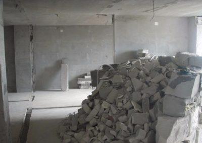 Демонтаж штукатурки, шпаклевки в Уфе