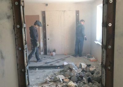 Демонтаж линолеума, ковролина Уфа