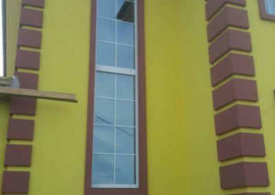 Облицовка фасада частного дома в Уфе