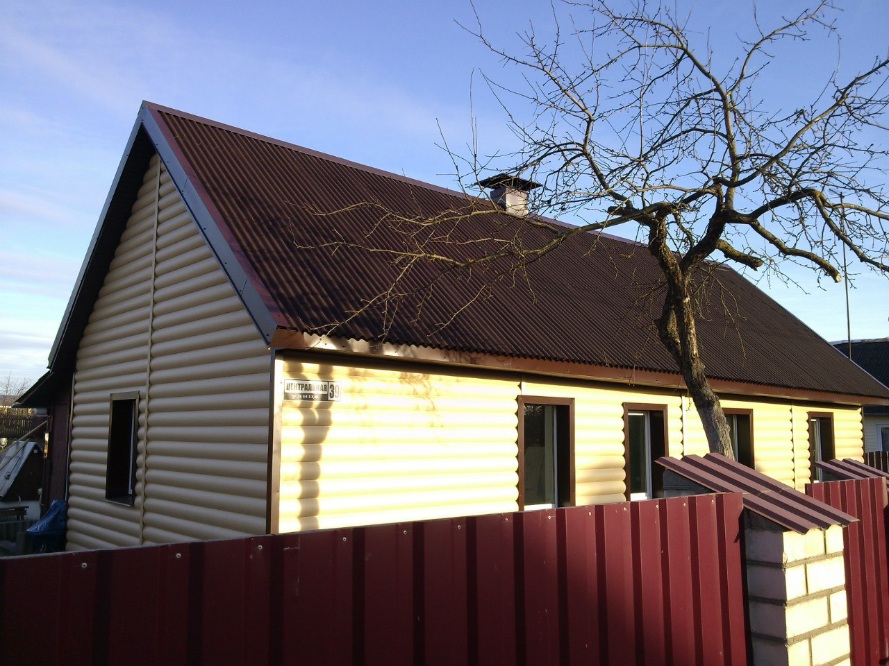 Дизайн дома обшитые сайдингом