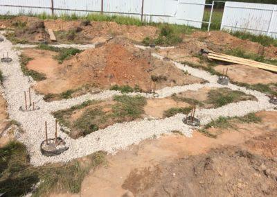Строительство плитного фундамента в Уфе