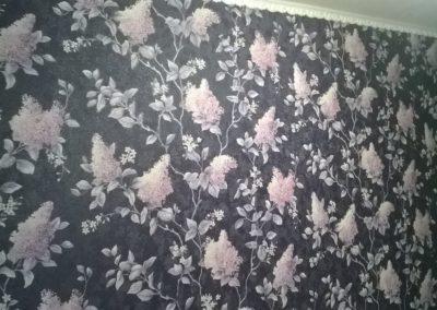 Поклейка текстильных обоев Уфа