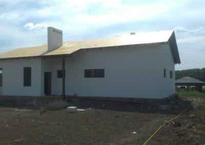 покраска фасадов домов под ключ в Уфе