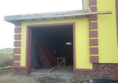 покраска фасада частного дома в Уфе