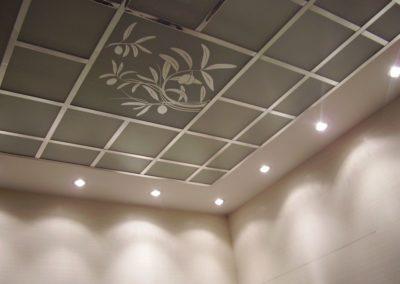 Установка потолка грильято в Уфе