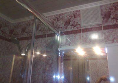 Потолок из панелей в Уфе