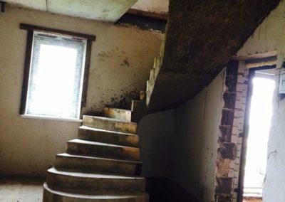 Монолитная лестница в Уфе