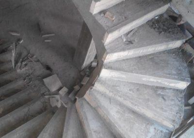 Железобетонная лестница в Уфе
