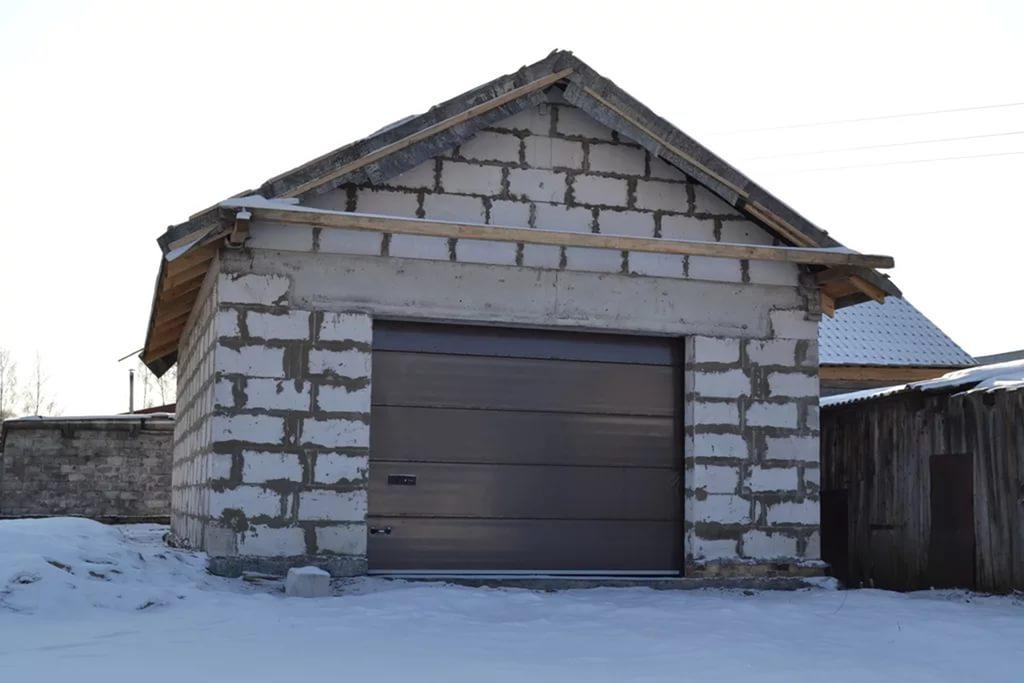 Построить гараж с вторым этажом
