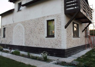 штукатурка фасадов домов в Уфе