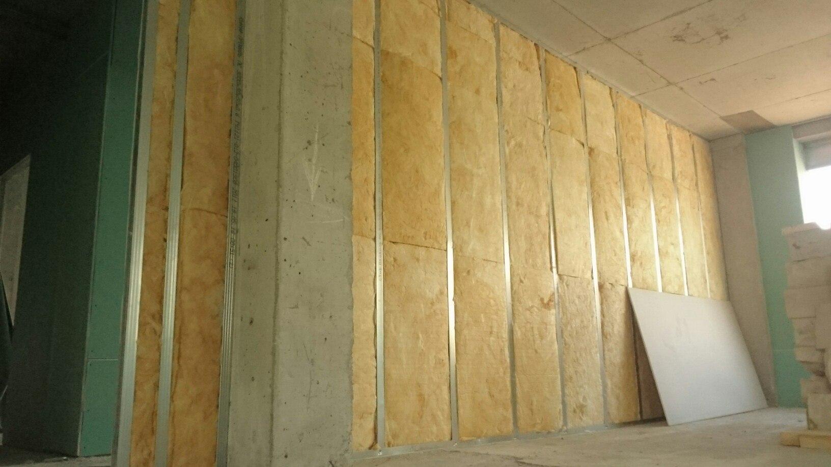 Стена из гипсокартона своими руками шумоизоляция 49