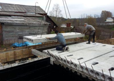 Строительство ленточного фундамента в Уфе