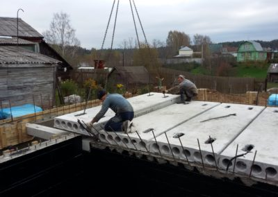Строительство свайно ростверкого фундамента в Уфе