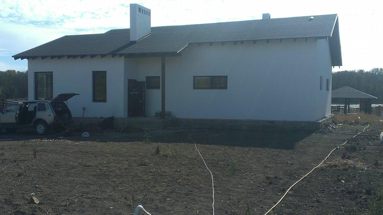 Простая масляная окраска ранее окрашенных фасадов
