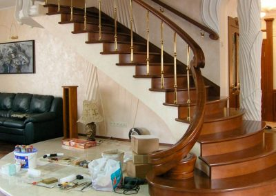 деревянная лестница уфа