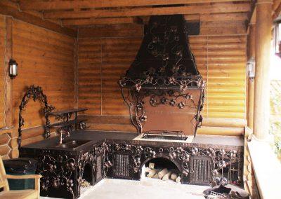 кованые мангалы в Уфе