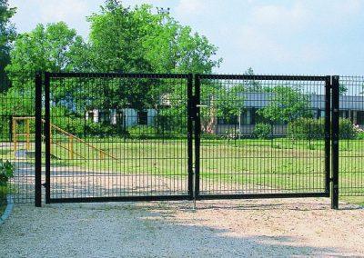 Распашные ворота в Уфе