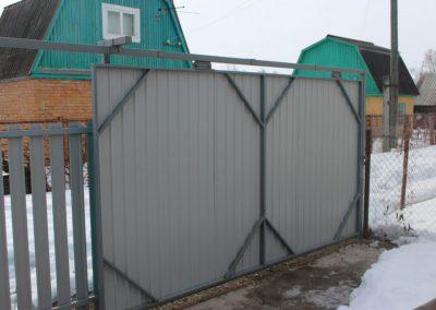 откатные ворота в Уфе