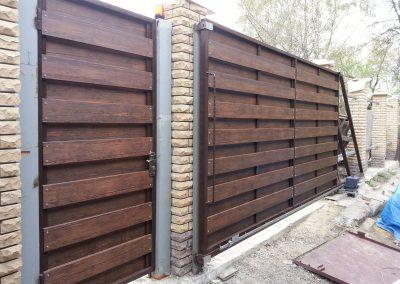 Раздвижные ворота в Уфе