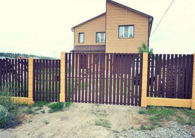 Забор из евроштакетника в Уфе