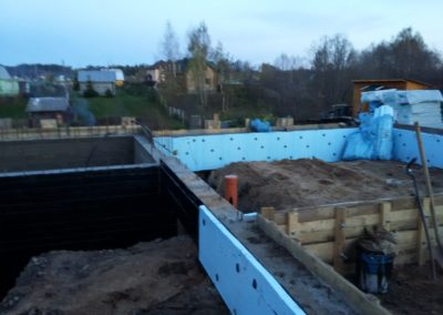 Строительство цокольного этажа под ключ в Уфе