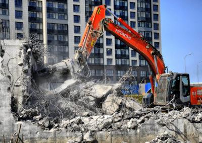 Демонтаж зданий в Уфе