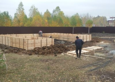 Строительство цокольного этажа в Уфе