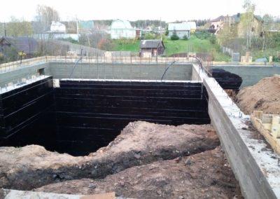 Строительство монолитного фундамента в Уфе