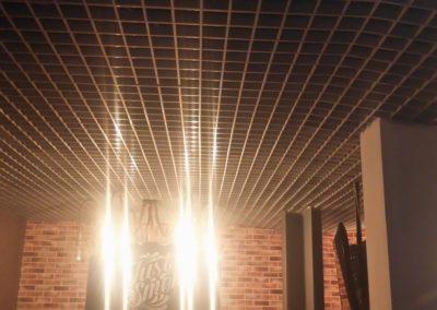 Монтаж потолка грильято в Уфе
