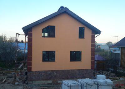 Строительство коттеджей под ключ в Уфе