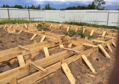 Строительство фундамента под ключ в Уфе