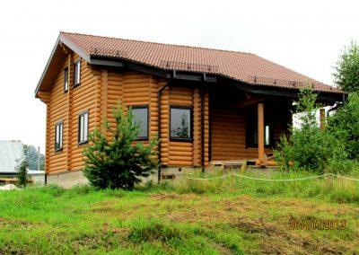 деревянный дом в Уфе