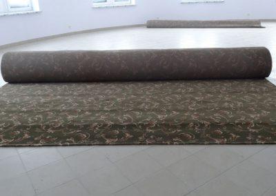 Монтаж коврового покрытия
