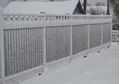 деревянный забор под ключ уфа цена