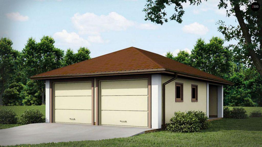 строительство гаража на две машины уфа